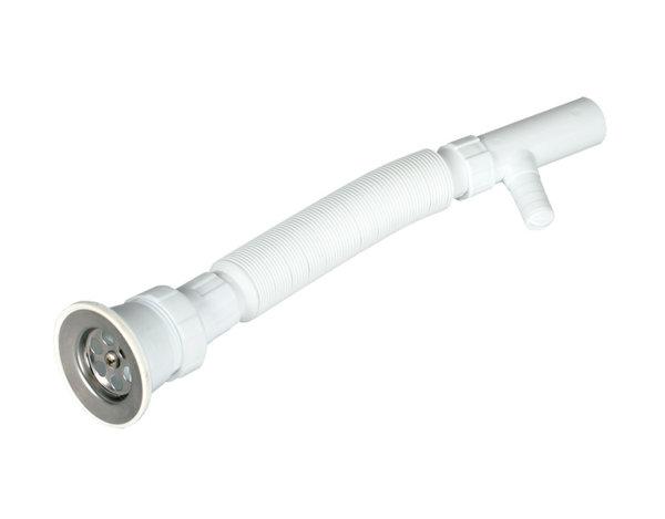 Сифон за мивка с гофрирана връзка - ø70/ø32 mm