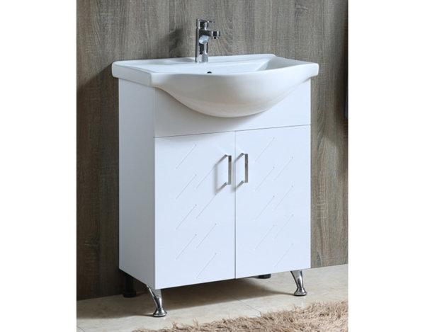 Шкаф за баня с мивка - 64.5 x 85 x 49 cm