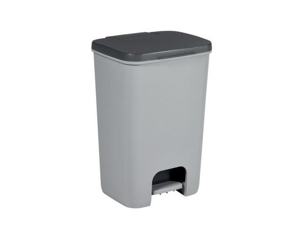 Кошче за отпадъци - сиво, 40 l