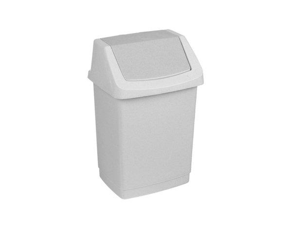 Кошче за отпадъци - сиво, 15 l