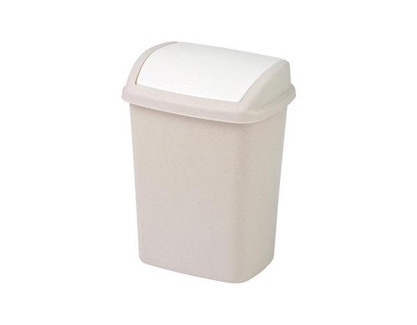 Кошче за отпадъци - бежово, 10 l