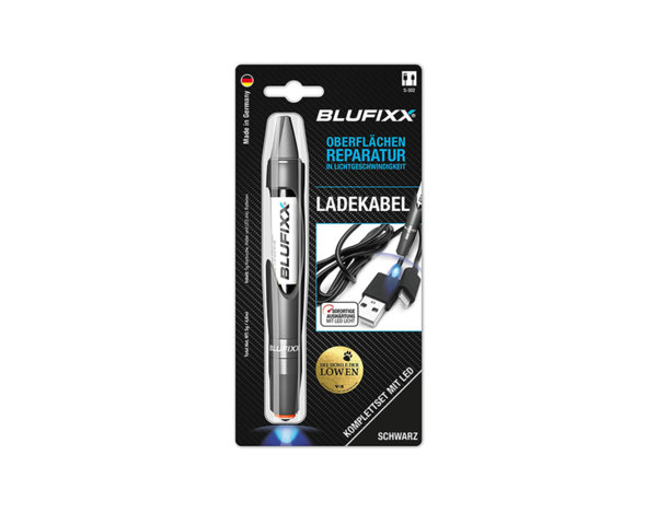 Гел за ремонтни дейности Blufixx - черен, 5 g
