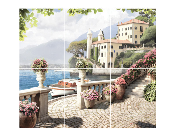 Декор Troyanda Sorrento Mix - 25 x 33 cm, различни модели
