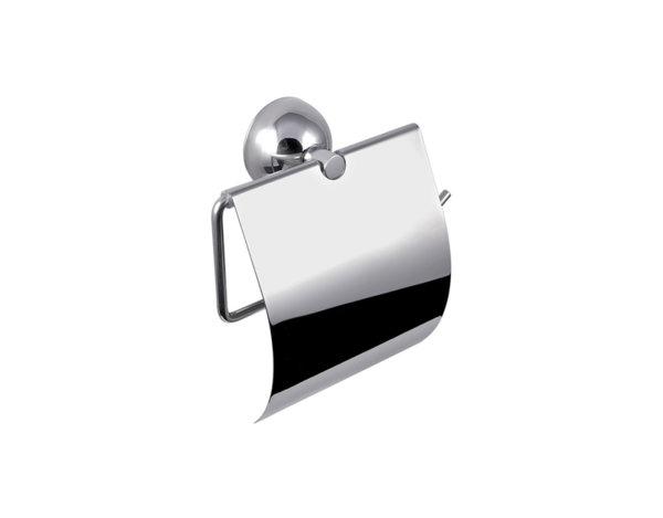 Държач за тоалетна хартия с капак Classico 5403