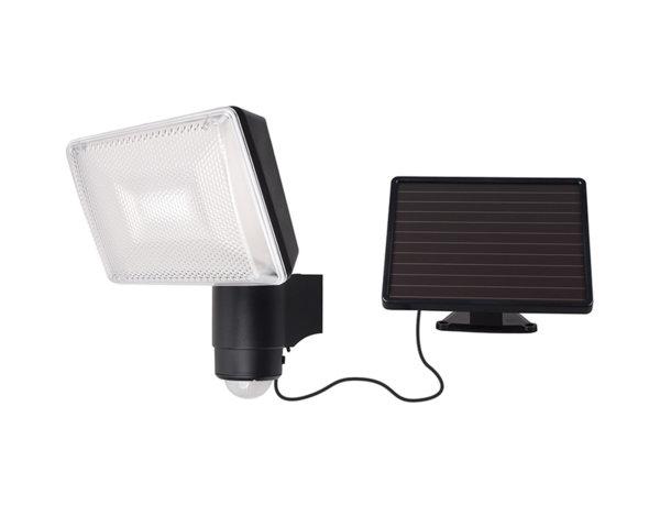 Соларен LED прожектор - със сензор