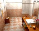 Фаянс Palazzo Rosso - 25 x 50 cm