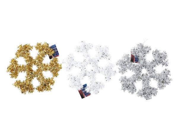 Коледна украса снежинка - 32 х 32 cm