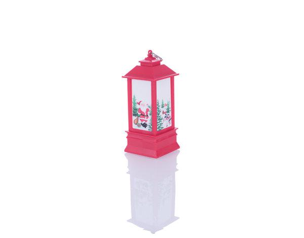 Светещ коледен фенер - 8 х 18 cm