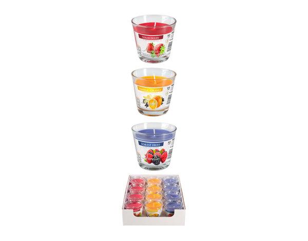 Ароматизирана свещ в чаша - Fruity Mix 2
