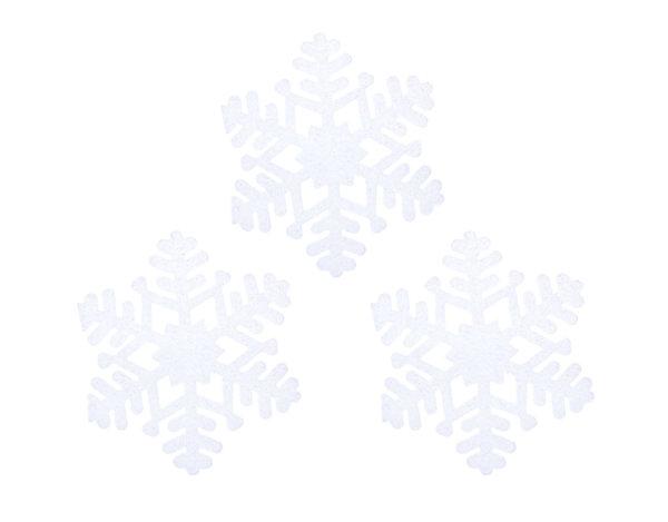 Коледна украса - 3 бр. снежинки, 20 cm