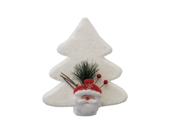 Коледна декорация - елха, 22 cm