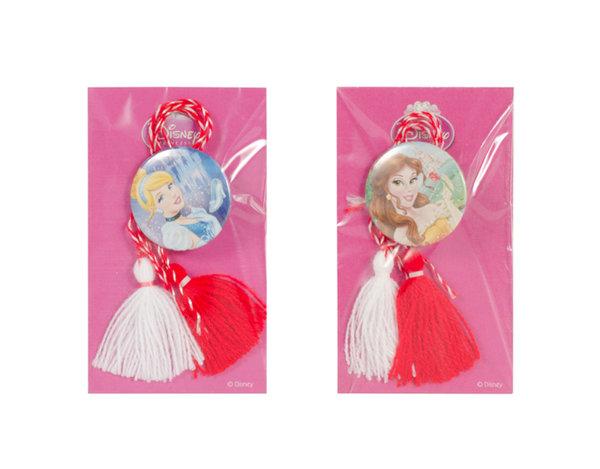 Мартеници със значки - принцеси