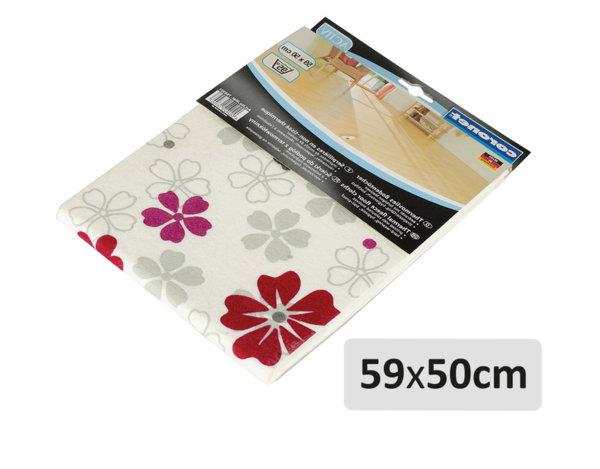 Вълнена кърпа за под - 59 x 50 cm