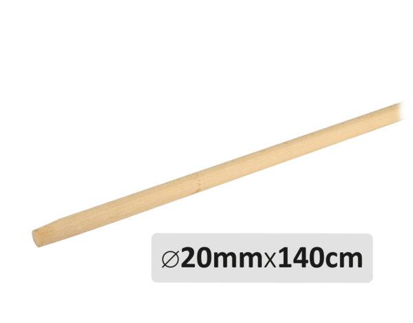 Дървена дръжка за метла