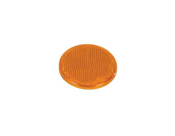 Светлоотразител кръг с лепенка - различни цветове