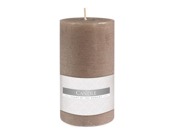 Свещ Rustic Pillar - ø7 x 13 cm, Grey
