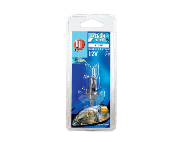 Крушка Xenon - синя,12 V, различни видове