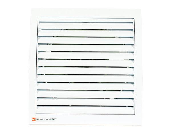 Квадратен вентилатор - 46 W, ø150 mm