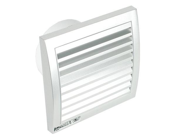 Квадратен вентилатор Inox - 13 W, ø100 mm