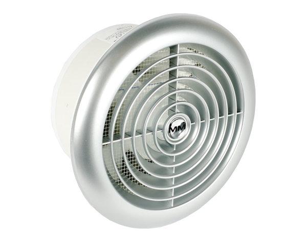 Кръгъл вентилатор с клапа Inox - 18 W, ø120 mm