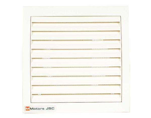 Вентилационна решетка - бежова, ø100 mm