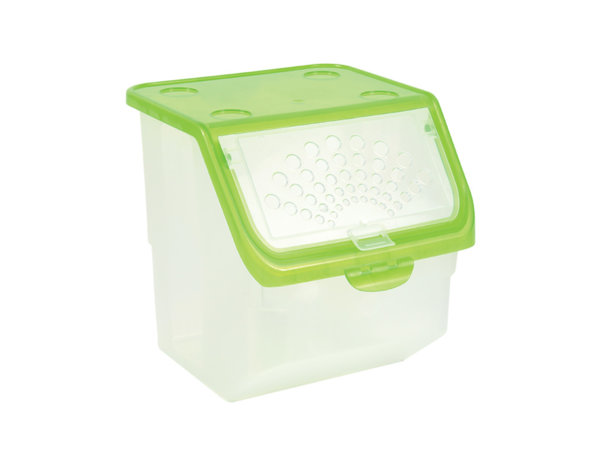 Кутия за съхранение Unibox - с отвори, 11 l