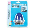 Нощна светлина диамант - 9 LED/24 V