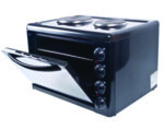 Готварска печка с електрически котлони - 3300 W
