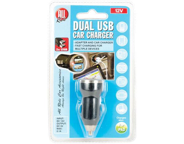 Двойно USB зарядно - 12 V