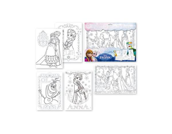 Комплект за оцветяване Frozen