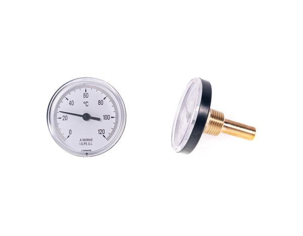 Потопяем термометър -  ø63 mm