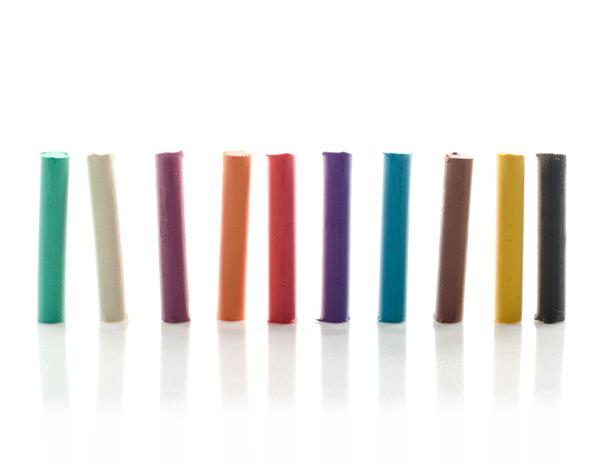 Комплект пластилин - 10 цвята