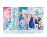 Тетрадка Frozen с широки редове - 24 листа