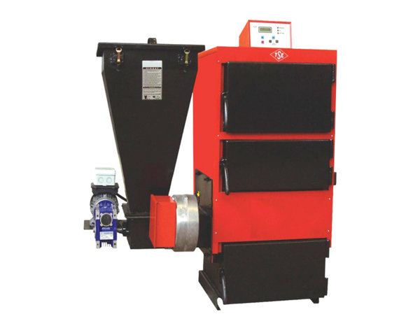 Автоматичен пелетен котел - 32.9/47 kW