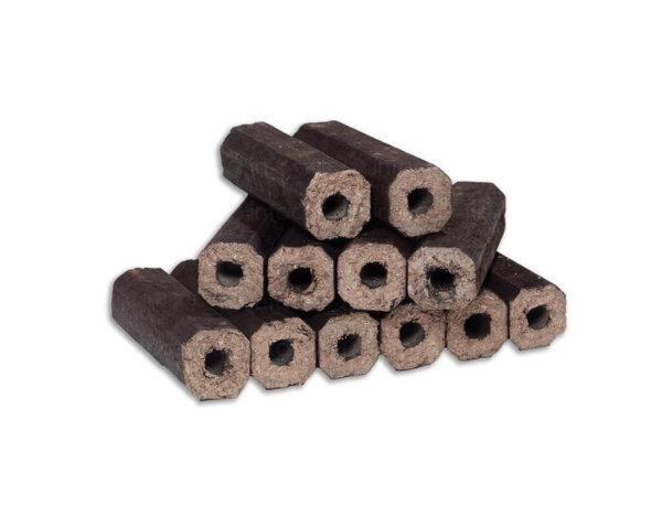Екобрикети от широколистна дървесина - 10 kg