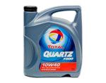Четиритактово синтетично масло Quartz 10W40 - 1 l