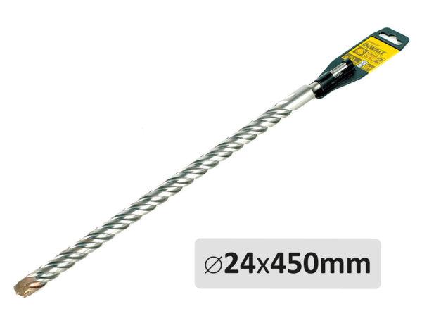 Свредло за бетон - ø24 x 450 mm