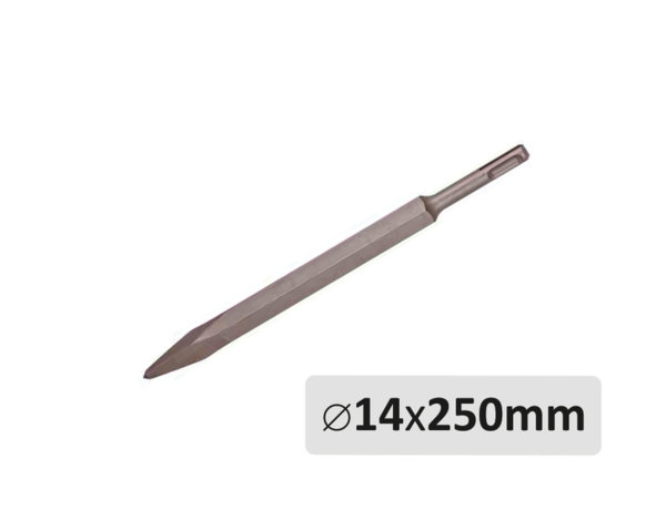 Шило - SDS Plus захват, ø14 x 250 mm