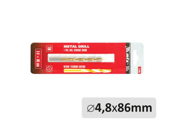 Свредло за метал - ø4.8 x 86 mm