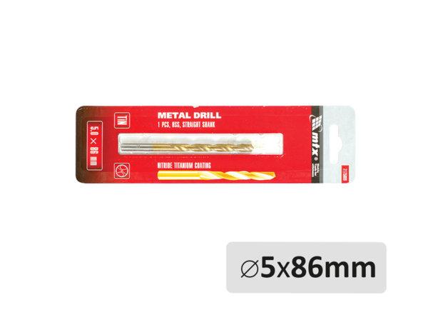 Свредло за метал - ø5 x 86 mm