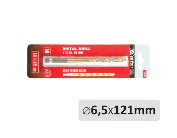 Свредло за метал - ø6.5 x 121 mm