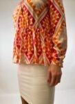 Дамска риза от коприна BL160OR