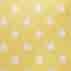 Жълт с бели точки