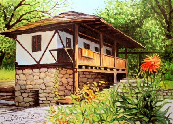 Дамян Петров – Изкуство, извиращо от Душата