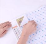 Диамантен гоблен Цветно сияние - 30х40, квадратни мъниста