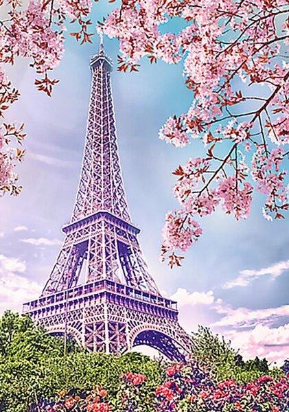 Диамантен гоблен Пролет в Париж - 40х50, квадратни мъниста