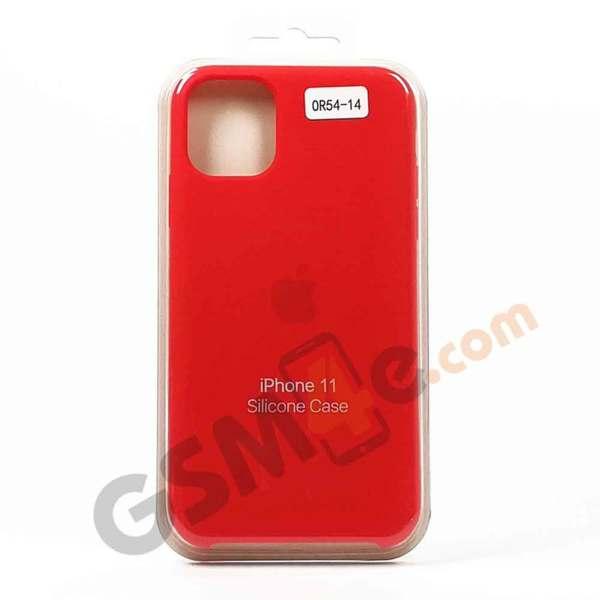Луксозен силиконов гръб / кейс за iPhone 11 Pro цвят 14