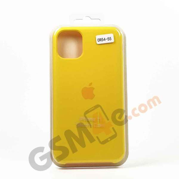 Луксозен силиконов гръб / кейс за iPhone 11 Pro цвят 55