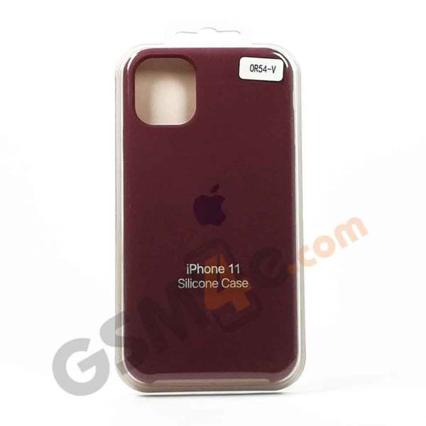 Луксозен силиконов гръб / кейс за iPhone 11 Pro цвят V