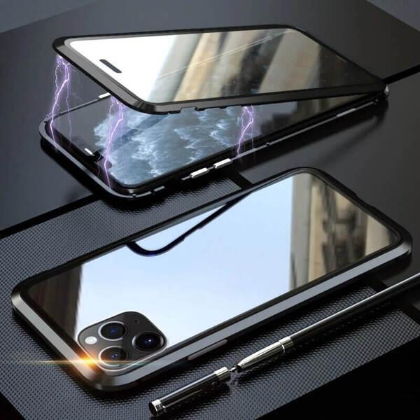 360 градусова защита Duble GlassMagnetic Caseза iPhone 11 Pro